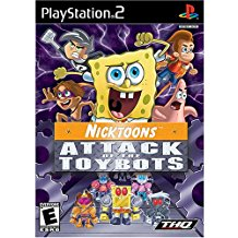 PS2: NICKTOONS ATTACK OF THE TOYBOTS (NICKELODEON) (COMPLETE)